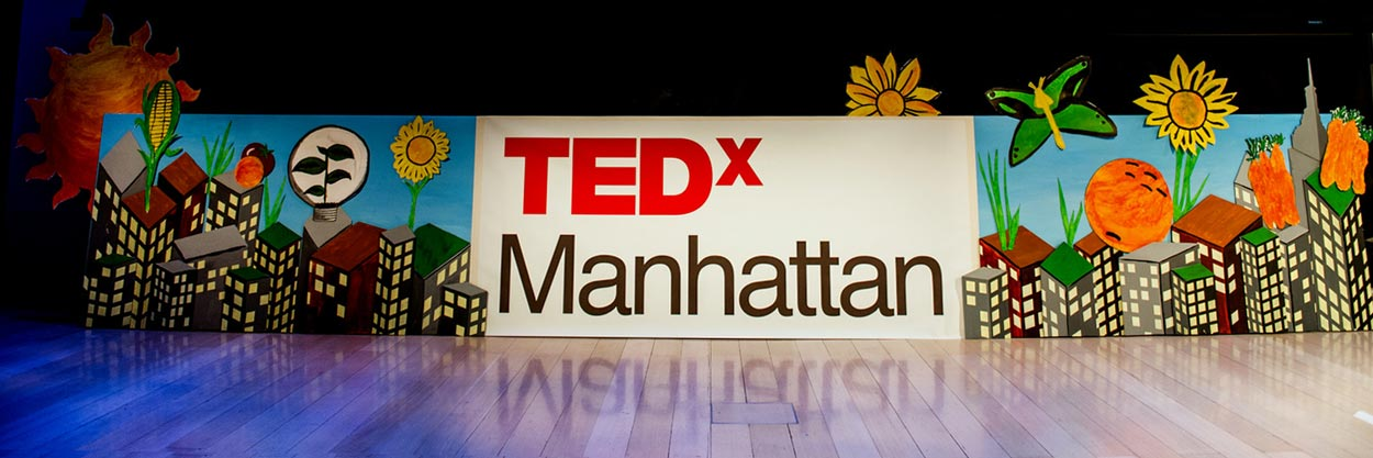 Making the TEDx Stage Sign