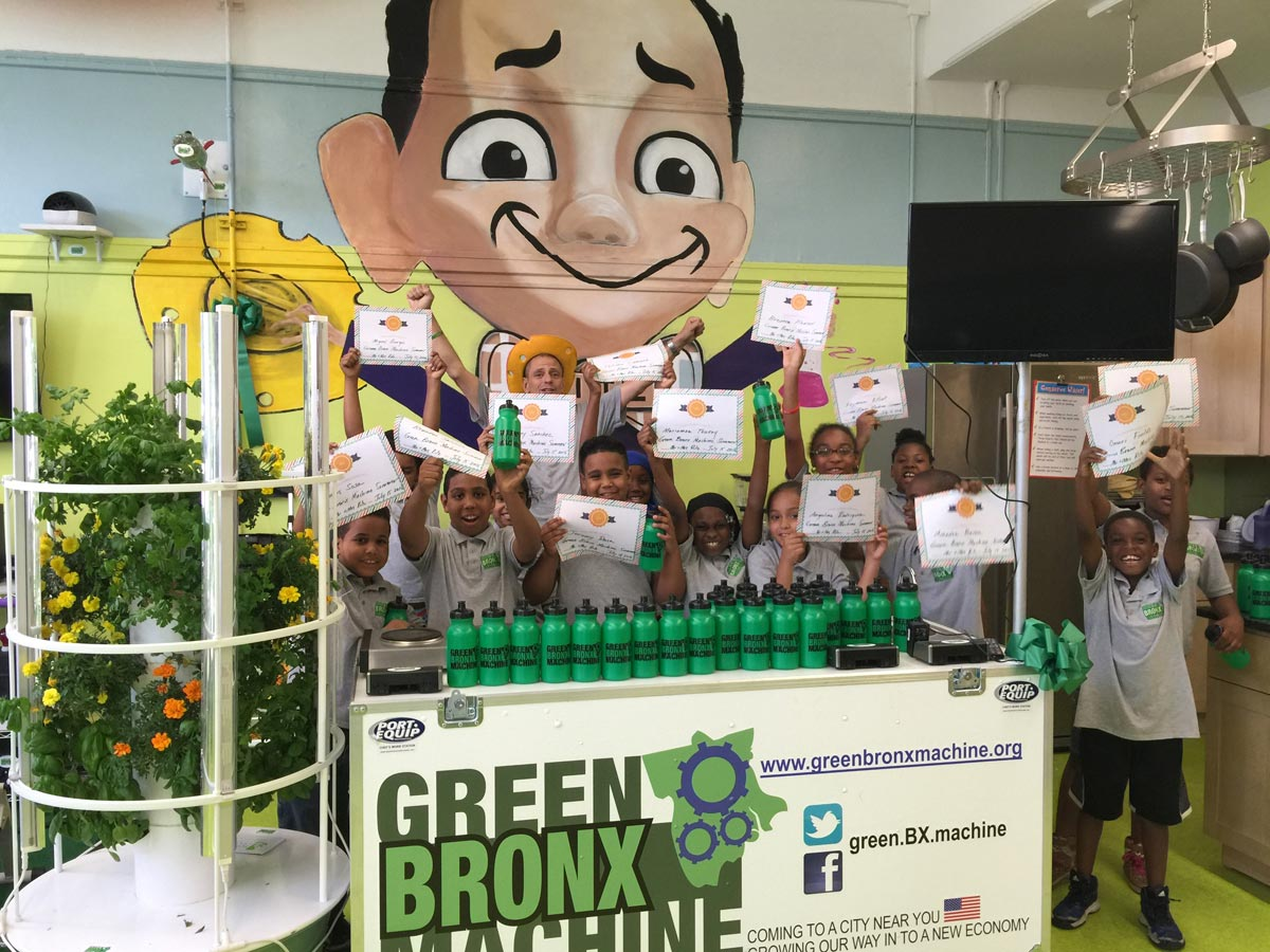 Green Bronx Machine receives $25,000 Grant from Newman
