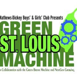Green St. Louis Machine Logo