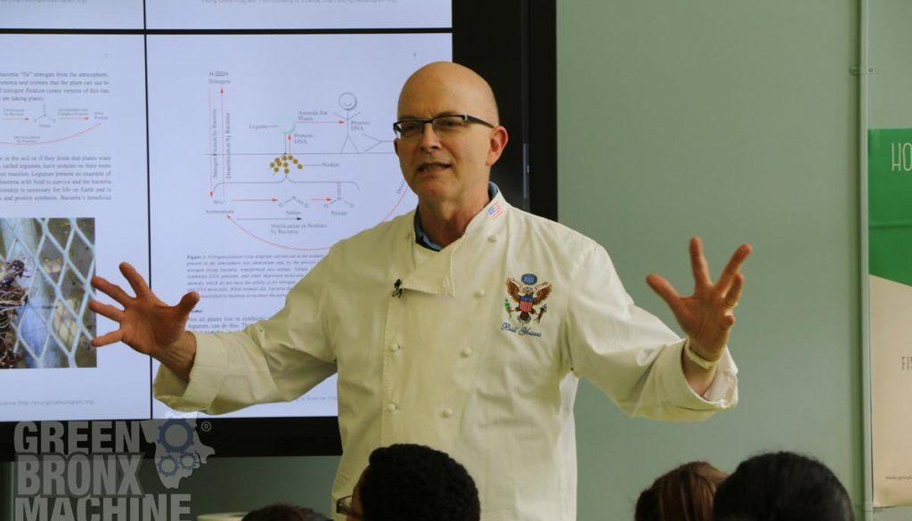 Chef Bill Yosses - NHWLC Launch - May 2016