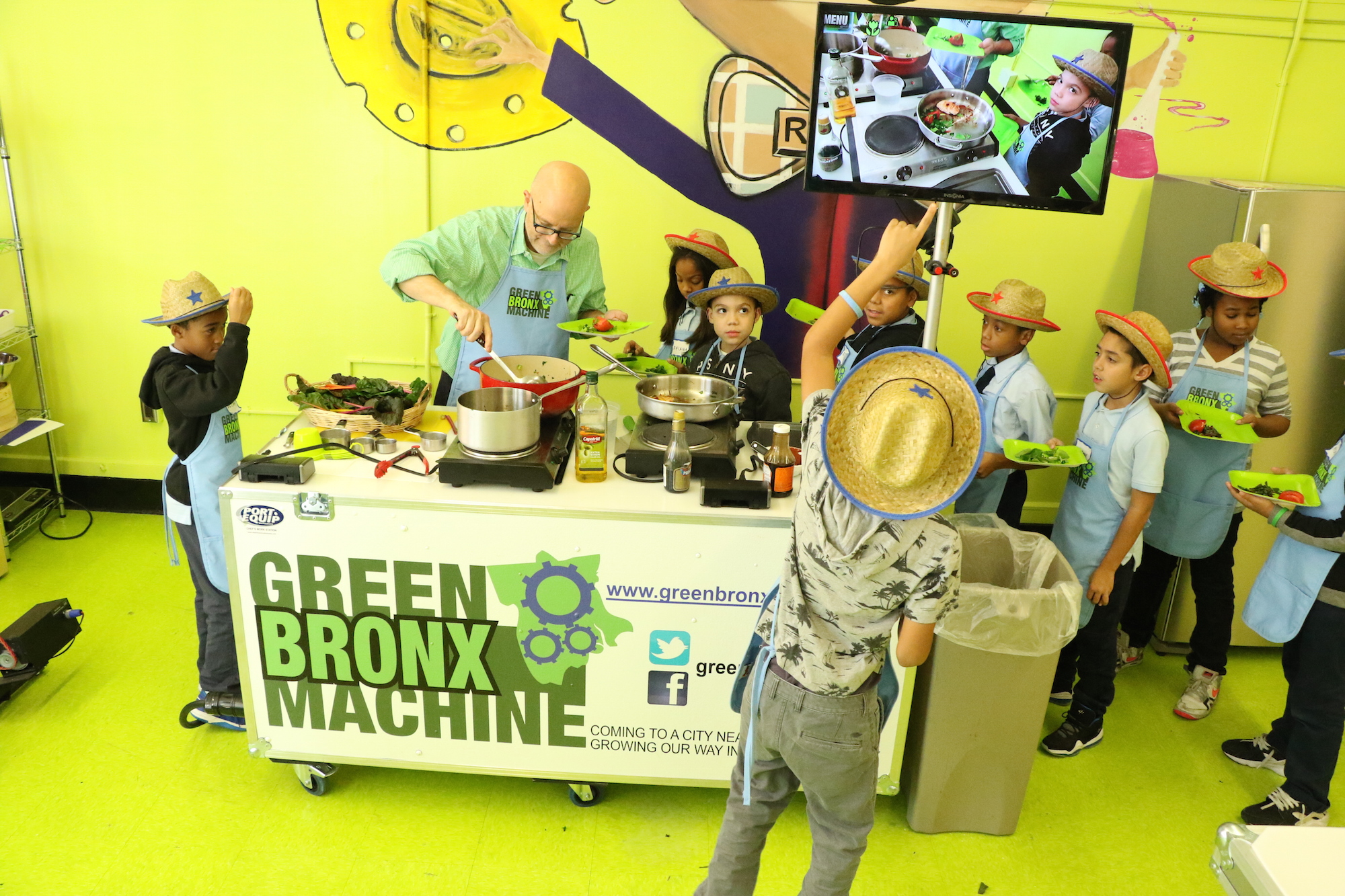 the green bronx machine