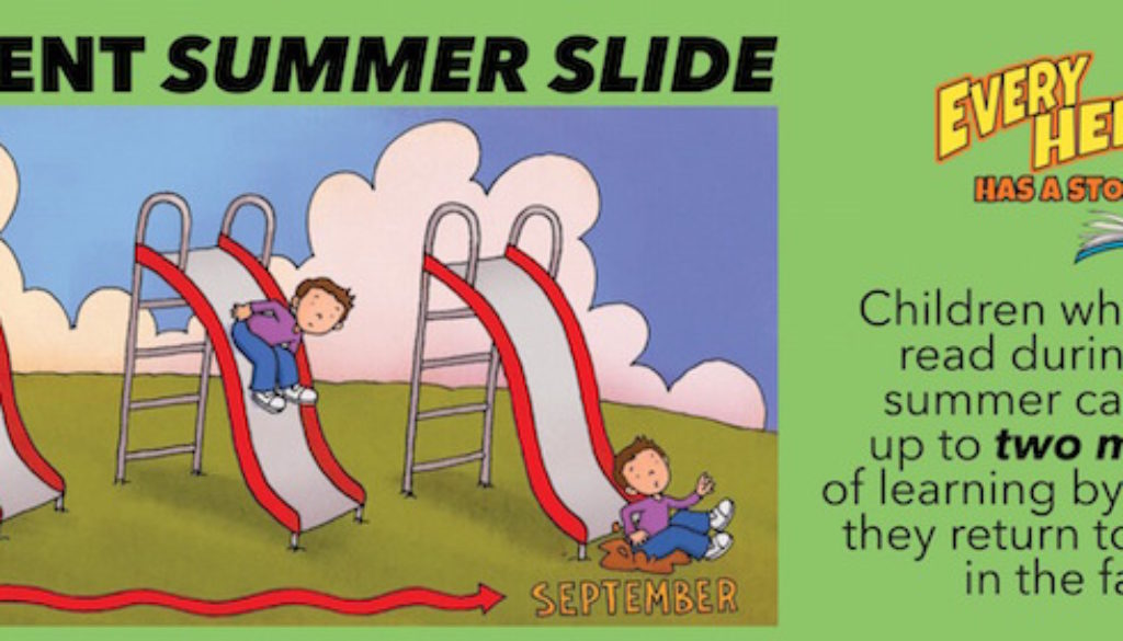 Book Fund! Help End the Summer Slide!
