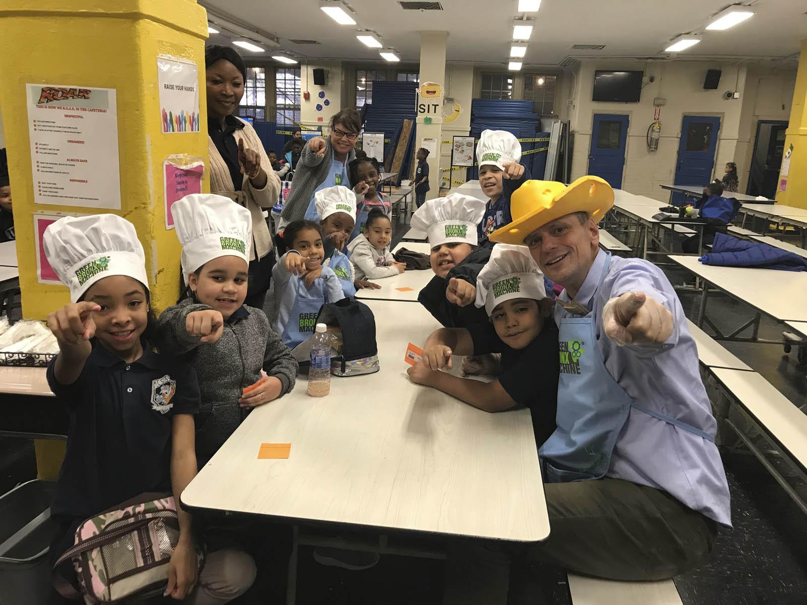 School Garden to School Cafeteria – Green Bronx Machine