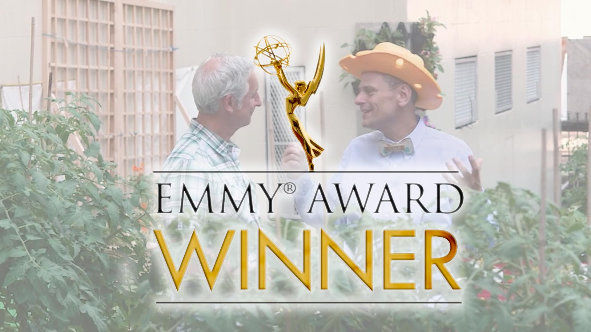 Emmy Win for Growing a Greener World