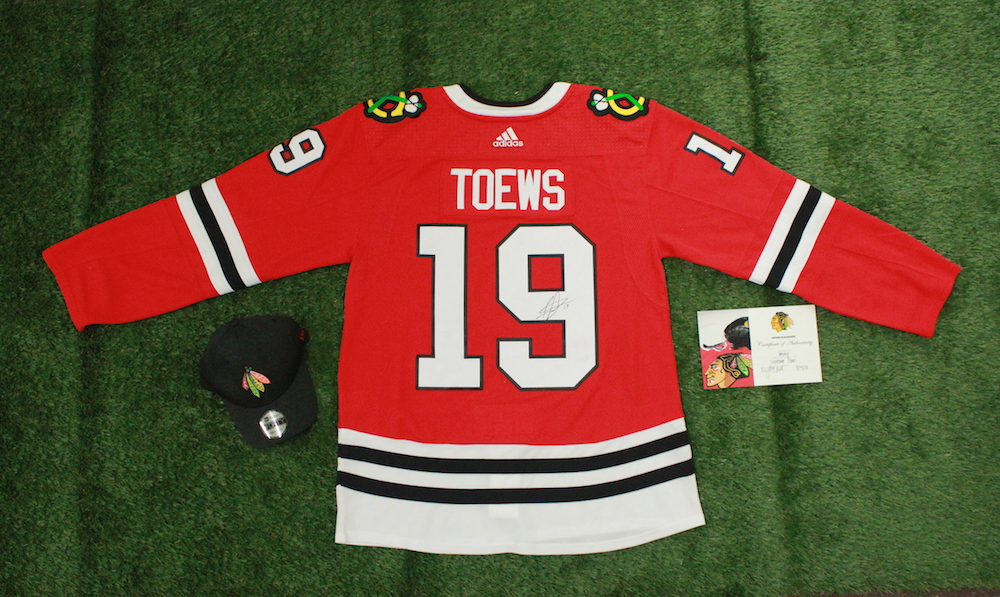 Jonathan Toews Signed Game Jersey