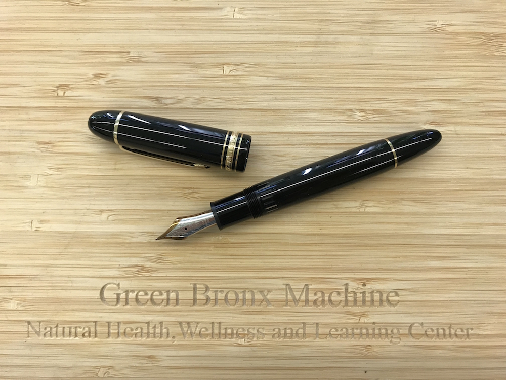Vintage Gold Tip Mont Blanc Fountain Pen