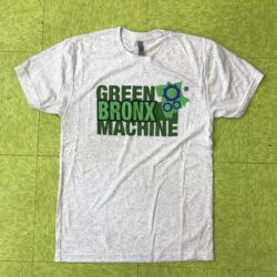 White Unisex GBM-Logo Crew Neck T-shirt
