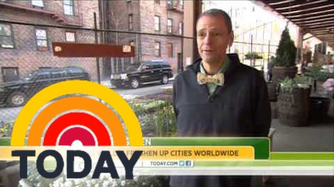 Students plant Living Walls on the TODAY Show!